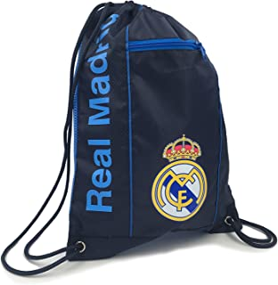REAL MADRID Official Licensed NAVY CINCH BAG SACK by ICON SPORTS