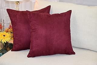 Best burgundy decorative pillows Reviews