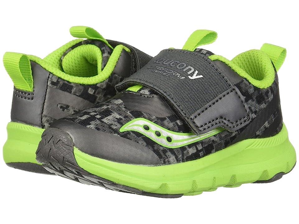 Saucony Kids Liteform (Toddler/Little Kid) (Grey/Green) Boys Shoes