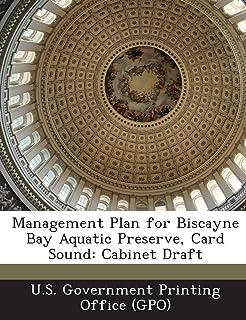 Management Plan for Biscayne Bay Aquatic Preserve, Card Sound: Cabinet Draft