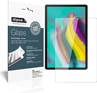 dipos I 2x skärmskydd kompatibel med Samsung Galaxy Tab S5e 10,5 tum flexibelt glas 9H skärmskydd