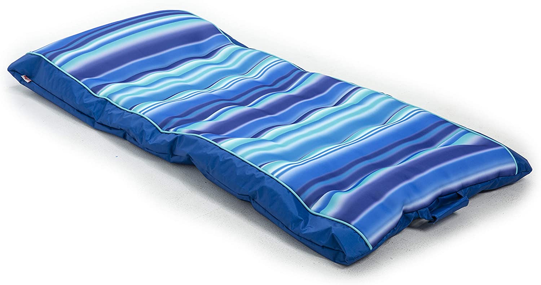 free Big Joe Department store Kona Float Blurred Blue Stripe