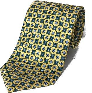 MadeWithLove cravatte di seta per uomo, fatte a mano, prodotto italiano, lunghezza circa 145 cm larghezza 3,5/8 cm