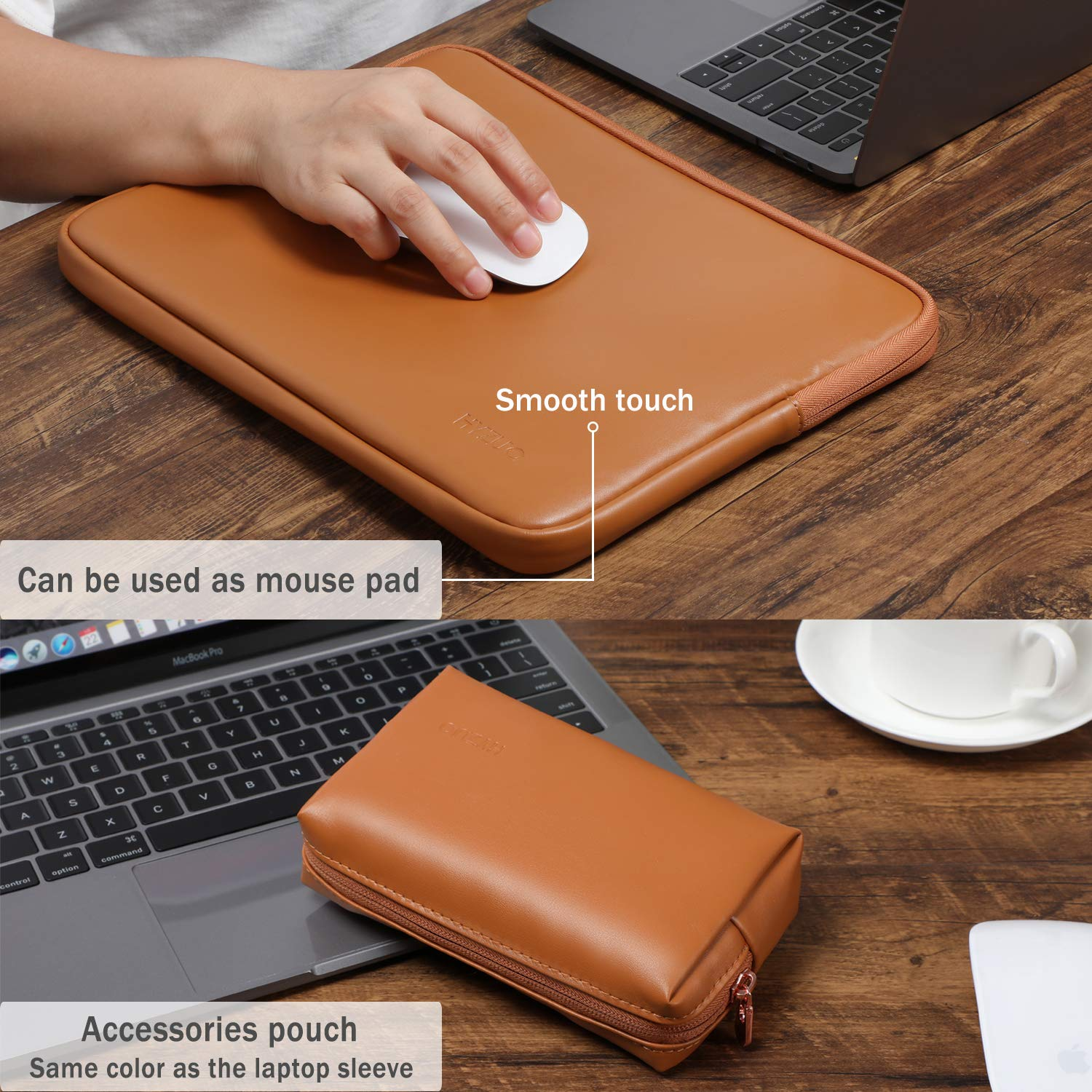Protective Carrying Case Compatible with 13-15 Inch MacBook Pro Air Notebook,Slim Sleeve Gao808yuniqi Dream Flowers Laptop Sleeve Shoulder Bag for Women