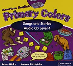 American English Primary Colors 4 Songs and Stories Audio CD (Primary Colours)
