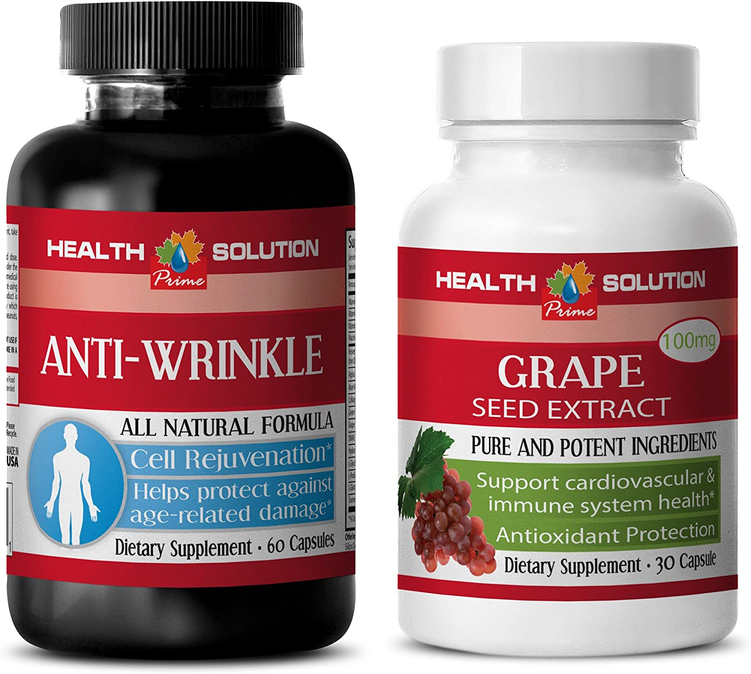 Anti Aging - Grape Seed Anti-Wrinkle Spring new work one after another Gr Extract – Cheap super special price Formula