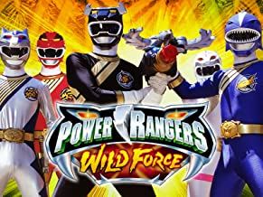 Power Rangers Wild Force Season 1