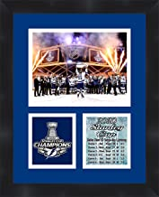 Tampa Bay Stanley Cup Champions 2020 Framed 11 x 14 Matted Collage Framed Photos Ready to Hang