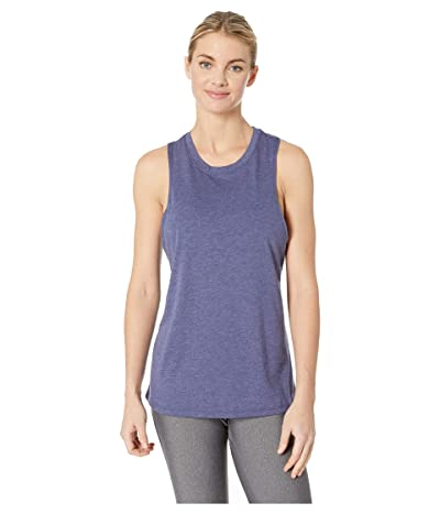 New Balance Heathertech Train Tank Top (Pigment Heather) Women