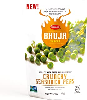 Bhuja Crunchy Seasoned Peas 7 oz each (1 Item Per Order)