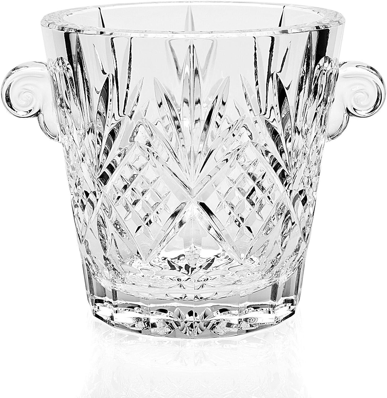 7.25  Dublin Crystal Ice Bucket