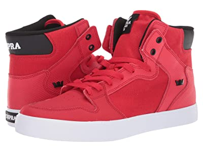 Supra Vaider (Risk Red/Black/White) Men