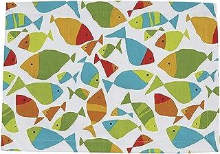 Split P Fabulous Fish Placemat Set - White