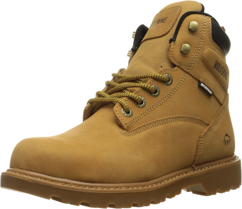 Wolverine Men's Floorhand 6 Inch Waterproof Steel Toe Work shoes
