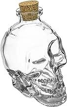 Fairly Odd Novelties FON-10021-ALT2 Glass Skull Decanter - FILL it UP w/Wine, Beer or Liquor, One Size, Clear