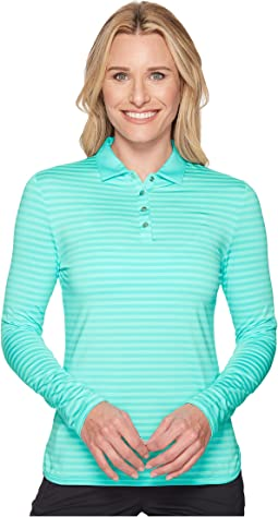 Callaway - Shadow Stripe Long Sleeve Polo