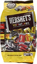HERSHEY'S Miniatures Chocolate Candy (HERSHEY'S, KRACKEL, and MR. GOODBAR), Snack Size Assortment, 56 Ounce Bulk Bag