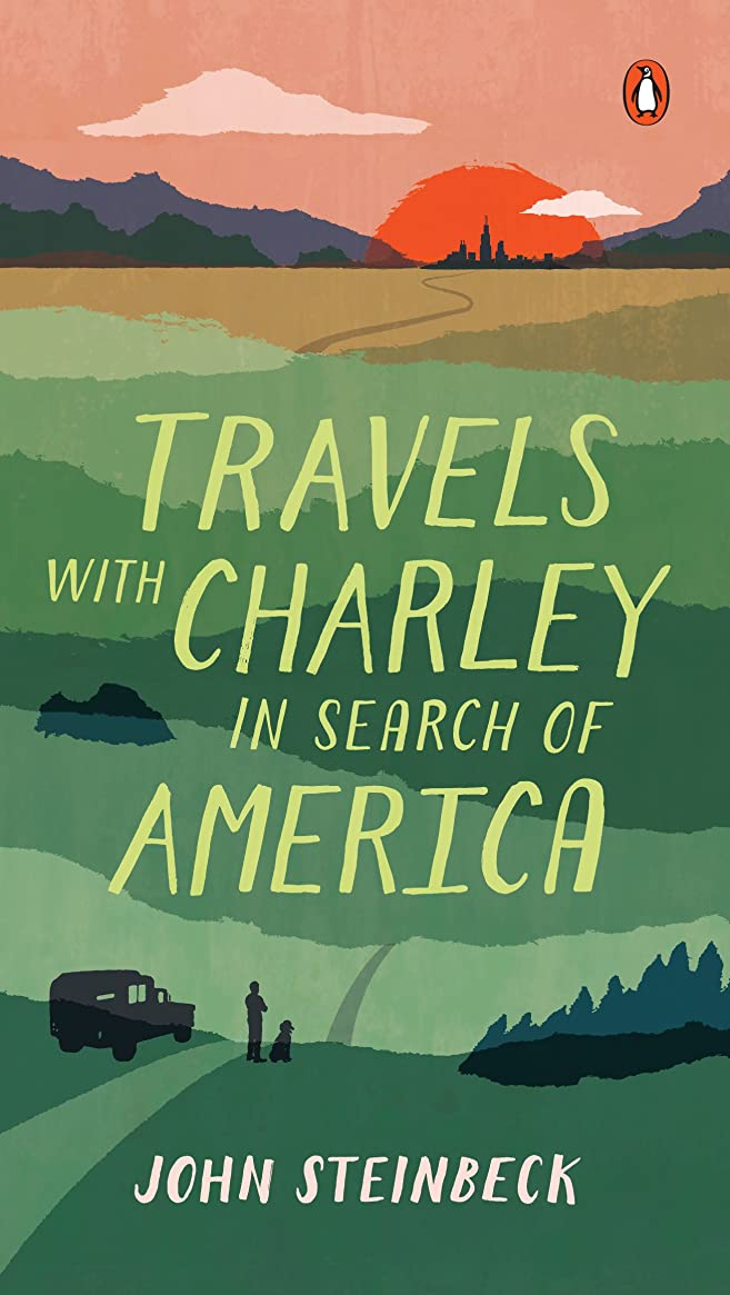 バリア活気づける連邦Travels with Charley in Search of America (English Edition)