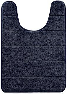 BETUS U-Shaped Contour Memory Foam Toilet Mat - Non-Slip Backing,Water Absorbent, Machine Washable, Super Cozy - Luxurious...