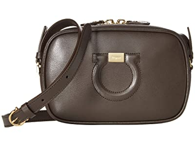 Salvatore Ferragamo City Crossbody (Flannel) Cross Body Handbags