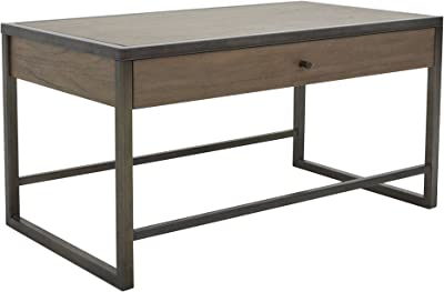 222 Fifth 7007GY041A1F26 Mason Grey Wood Coffee Table With Drawer