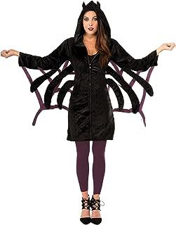 Women's Black Cat Hoodie Zip Jacket Adult Size Costume