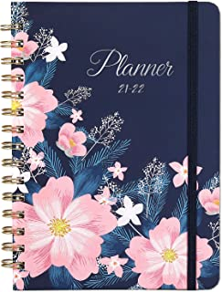 """Planner 2021- Weekly & Monthly Planner 2021 with Tabs, 6.4""""x 8.5"""", Jan 2021 - Dec 2021, Flexible Hardcover, Strong Bindin..."""