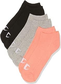 Champion Women's C Logo Low Cut Sock (3 Pack)