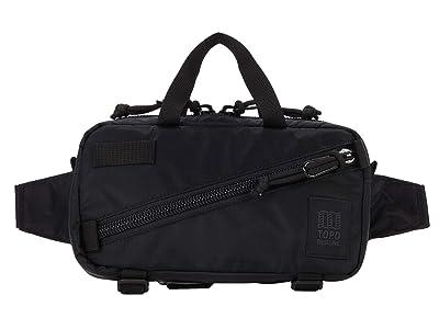 Topo Designs Mini Quick Pack (Black/Black 2) Cross Body Handbags
