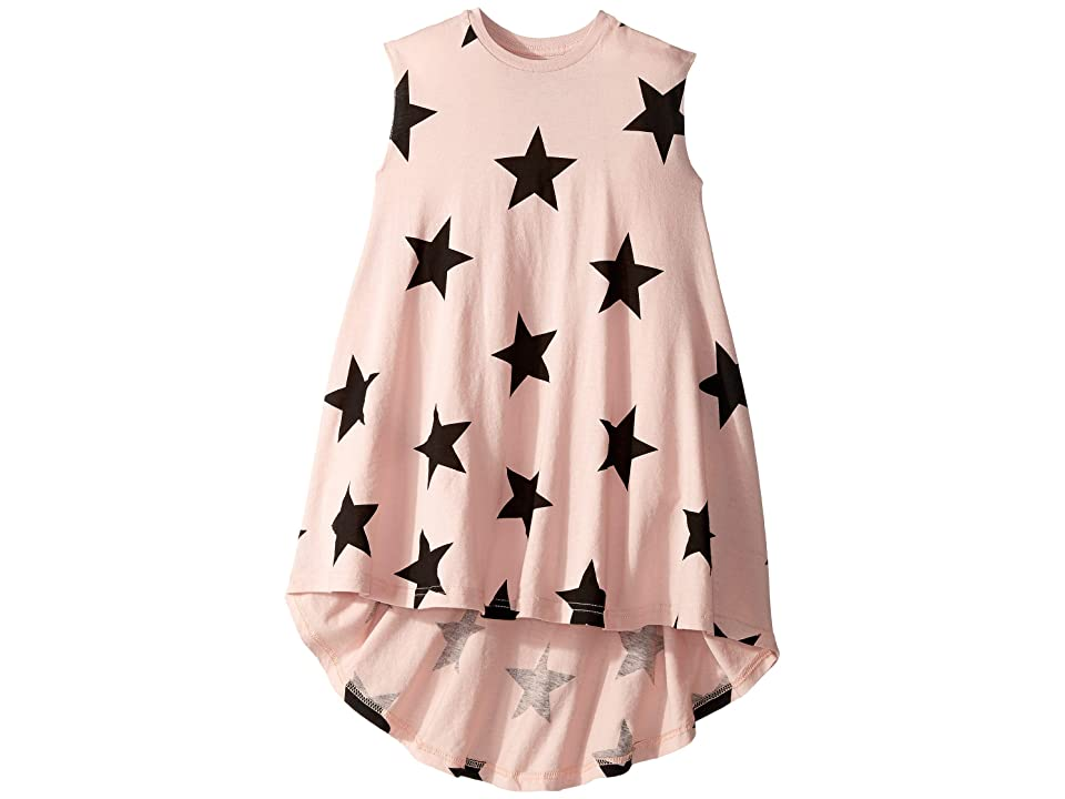 Nununu Star 360 Dress (Toddler/Little Kids) (Powder Pink) Girl