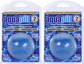 Auqapill 24002-02 Clarifier Plus for Swimming Pools (2 Pack)