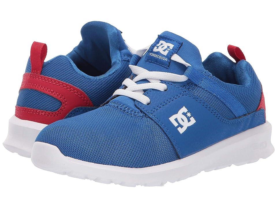 DC Kids Heathrow (Little Kid/Big Kid) (Royal/True Red) Boys Shoes