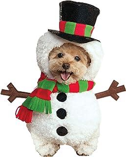 Rubie's Walking Snowman Pet Costume, Medium