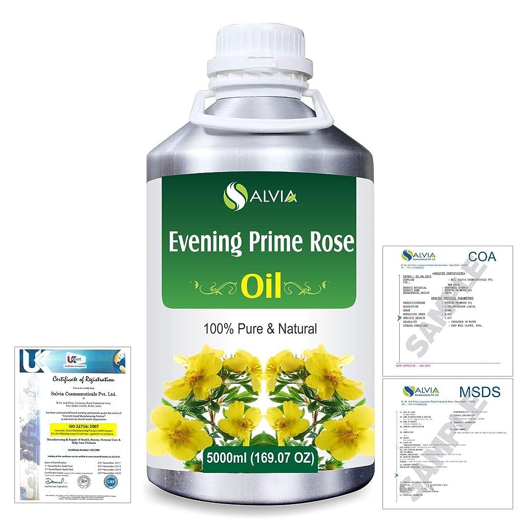 平和な調停者覚醒Evening Prime rose 100% Natural Pure Essential Oil 5000ml/169fl.oz.