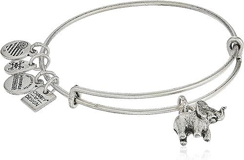 alex and ani charity by design, elephant ii bangle bracelet