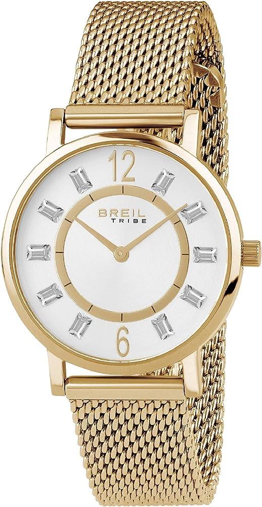 Breil orologio per donna skinny con cinturino in acciaio EW0403