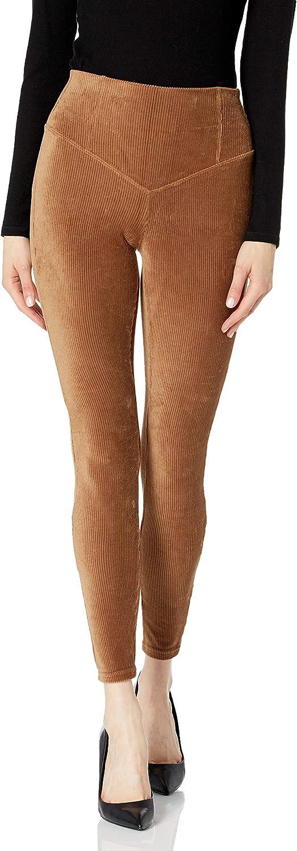 HUE Women's Corduroy High Rise Leggings