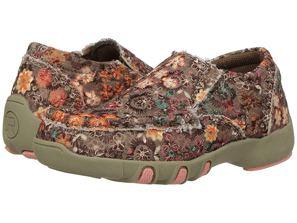 Roper Kids Chase (Toddler/Little Kid) (Multicolored Floral Fabric w/ Sequins) Girls Shoes