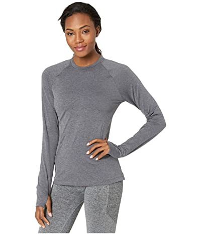 Nike Pro Warm Crew (Oil Grey/Heather/Black) Women