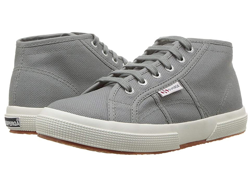 Superga Kids 2754 JCOT Classic (Toddler/Little Kid) (Grey Sage) Kid