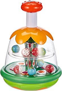 Chicco - Magische Tol - Interactief Educatief Speelgoed - Kleurrijke Ballen en Spiegel - Vanaf 6 Maanden tot 3 Jaar