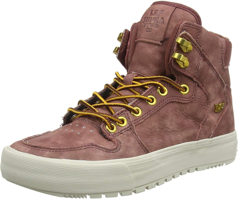 Supra Mens Vaider Cold Weather Chestnut Bone shoes Size