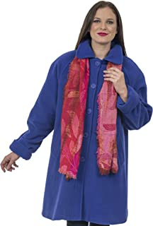 Coat Man Knee Length Single Breasted Raglan Sleeve Swing Coat Fold Back Sleeves Loose and Comfortable Fit