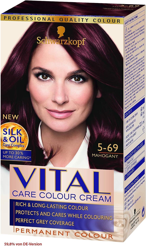 Vital Colors Schwarzkopf Tinte para el cabello de color vital ...