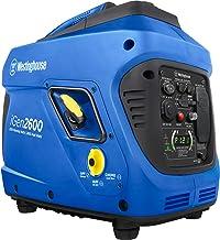 Westinghouse iGen2600 Super Quiet Portable Inverter Generator 2200 Rated 2600 Peak Watts,..