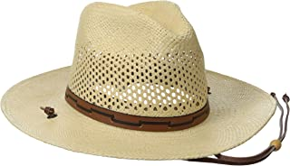 Men's Stetson Airway Vented Panama Straw Hat
