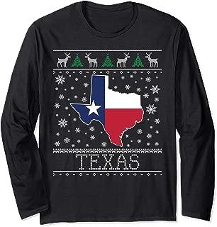 Texas Ugly Christmas Sweater Long Sleeve Shirt CM
