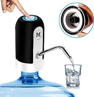 comprar comparacion Moguat Dispensador Agua para Garrafas con Adaptador, Dosificador Eléctrico Automático Extraíble Recargable USB Botellas Ag...
