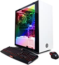CYBERPOWERPC Gamer Supreme SLC8480A Gaming PC (Intel i7-7700K 4.2GHz, NVIDIA GeForce GTX 1080, 32GB RAM, 3TB HDD, 480GB SSD, WiFi, Liquid Cool & Win10 Home) White