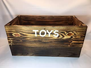 Dog Toy Box From Reclaimed Pallet Wood